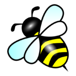 14154-illustration-of-a-cartoon-bee-pv